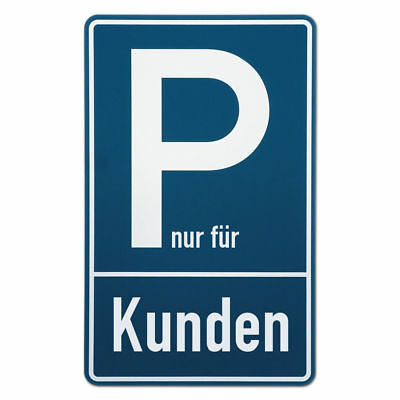 Parking Spot Sign for kundenparkplätze S3503