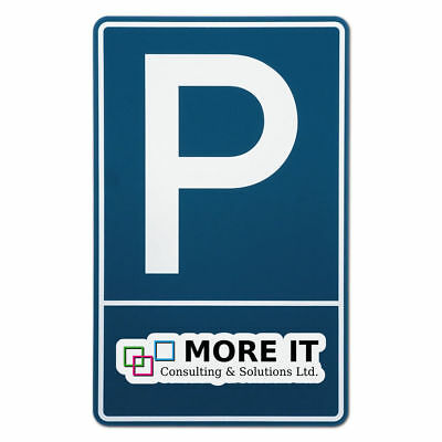 Parking Sign with Corporate Logo S4667