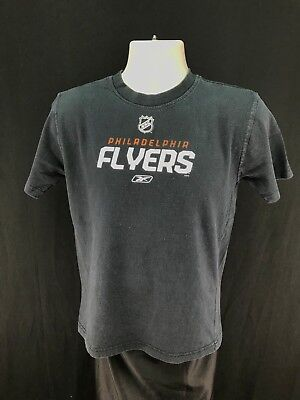 Boy s CCM Reebok NHL Philadelphia Flyers Graphic Short Sleeve T-Shirt Size L b083fd539