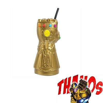 Avengers Infinity War Thanos Infinity Gauntlet Cup & Theater Movie Memo Cup