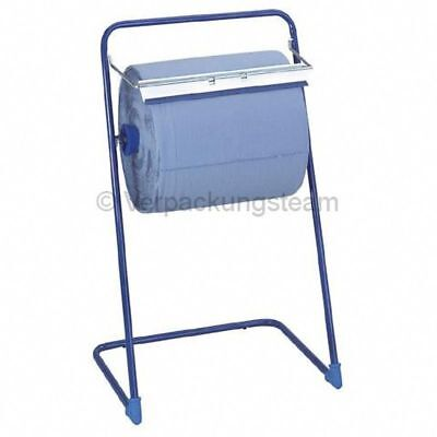 Floor Stand for Roll Cleaning Cloth to max. 40cm Made of Aluminium Workshop