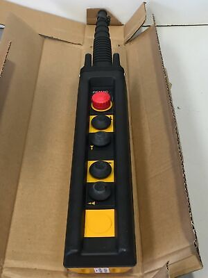 Demag 87427244 DST 6 DST6SP22 Pendant Button Control Dual 2-Speed Hoist Crane