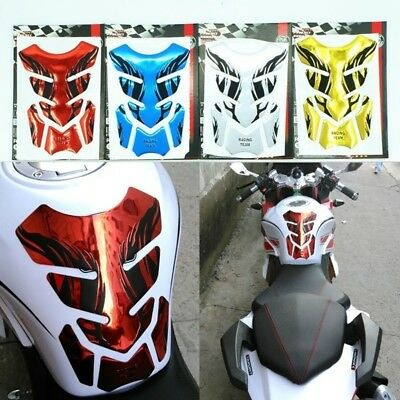1 PC 3D Motorcycle Fuel Tank Decal Pad Protector Cover Sticker Decoration Decals