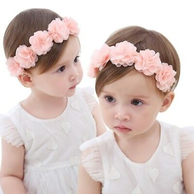 NEW Kids Girl Baby Toddler Bow Headband Hair Band Accessories Headwear Head Wrap