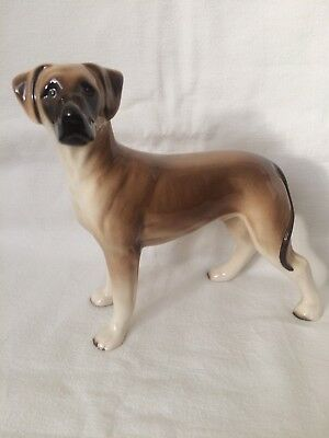 Possible Melba Ware Great Dane Dog Figurine Ornament Collectible