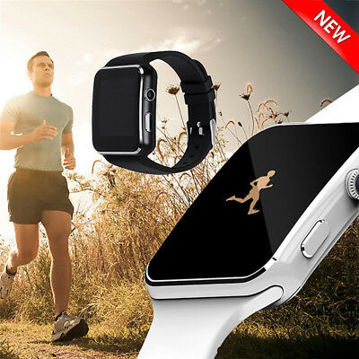 A1 Smart Watch Bluetooth Waterproof GSM SIM Phone Cam For Android Samsung