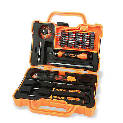 JAKEMY 45 in 1 Precision Screwdriver Set Hand Tool Box for iPhone PC Tools Kit