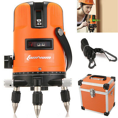Green Beam Automatic Self Leveling 3 line 1 points 2V1H Laser Level Tool w/ Box