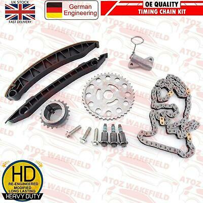 FOR NISSAN RENAULT VAUXHALL OPEL 2.0 dCi CDTi M9R ENGINE TIMING CHAIN KIT SET NE