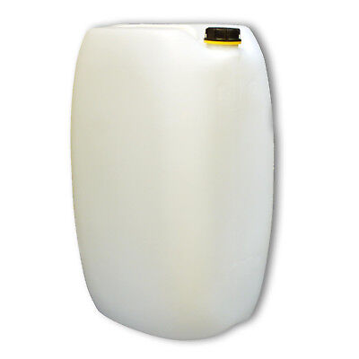Jerrycan 60 L DIN 61, Plastic water can HDPE Natural, Made in Germany (22249)