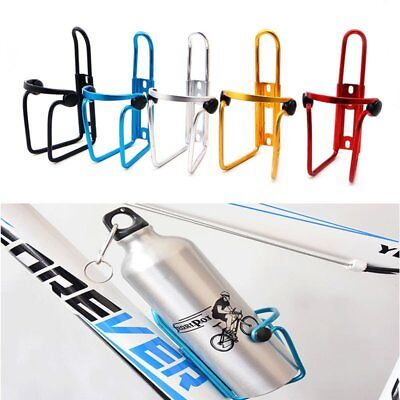 Bicycle Cycling Bike Water Bottle Cage Drink Holder Carrier Rack Bracket Aluminm
