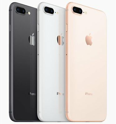 Apple iPhone 8 Plus 64GB 256GB GSM Unlocked AT&T T-Mobile Simple Mobile Open box
