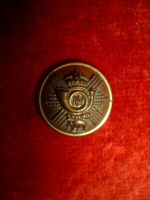 The Highland Light Infantry (Glasgow Regiment) Victorian Officer's Button, 20 mm