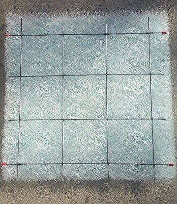 Paint Spray Booth Filter Holder 20x20 Steel Grid 10