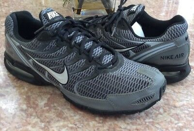 2b6a6e1058 Nike Air Max Torch 4 Men's Cool Grey Black Running Shoes Size 14 #343846-