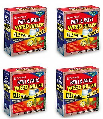 Pestshield Path and Patio Weed Killer 2/3/4/5/6 Sachet