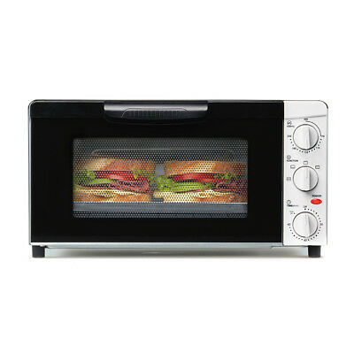 18L Toaster Oven With Timer Electric Baking Sandwich Bench Top Grill Roast Bake