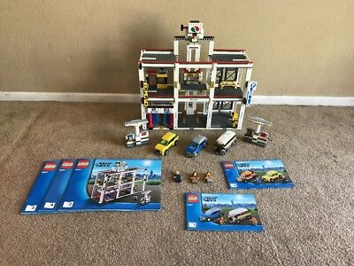 Lego City Harbor 7994 Transport Cargo Sea Port Incomplete Read