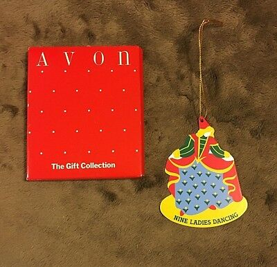 """Avon """"the Twelve Days Of Christmas"""" Ornament Collection/9 Ladies Dancing"""