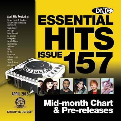 Essential Hits 157 CD Radio Edit Chart Music Disc Ft Calvin Harris & Dua Lipa