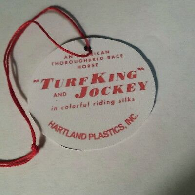 Hartland official Turf jockey hangtag