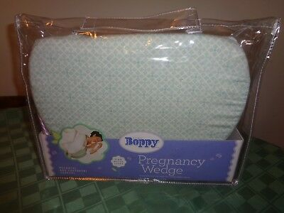 The Original Boppy Pregnancy Wedge Memory Foam Pillow Cushion NEW in Packaging
