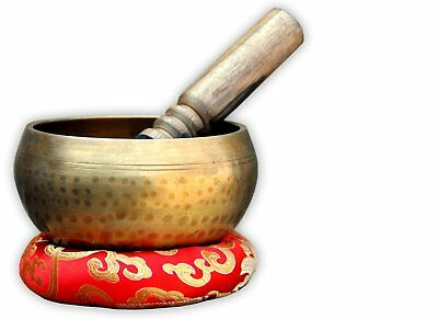 "5"" Tibetan Buddhist Singing-Hand beaten singing bowl,Free Cushion and Striker"