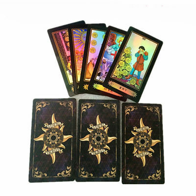 Printing Deck Tarot Cards High Quality Vintage Weekend Activity Gift Game 78PCS