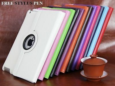 "Apple iPad Air 1 &iPad 9.7""( 2017) 360 Degree Rotating Stand Case Cover"
