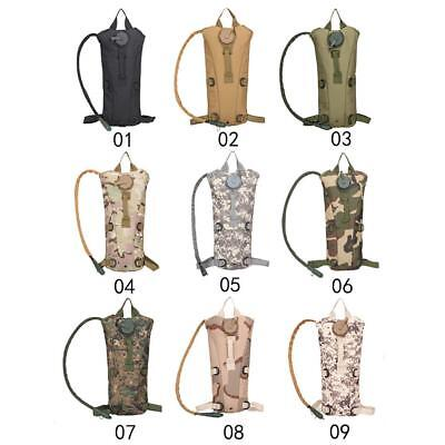 3L Tactical Hydration Pack Cycling Camel Water Bladder Bag DH