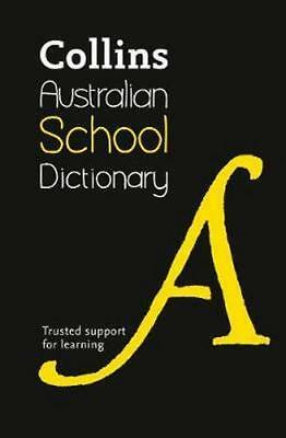 NEW Collins Australian School Dictionary By Collins Dictionaries Paperback