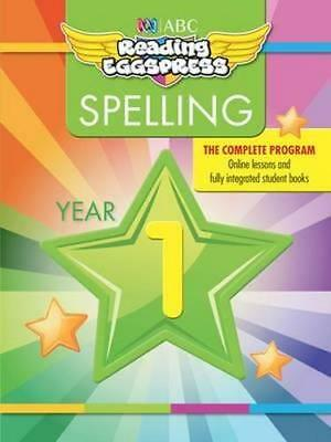 NEW Reading Eggspress Spelling Workbook Year 1 By ABC Reading Eggs Paperback