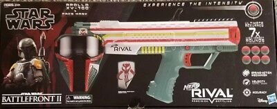 Boba Fett NERF Rival Apollo XV-700 Blaster Star Wars w/ Mask NEW!(MAKE AN OFFER)