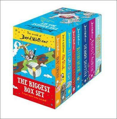 NEW The World of David Walliams By David Walliams Book with Other Items