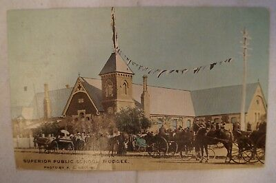 Superior Public School - Mudgee - New South Wales - Collectable - Postcard.