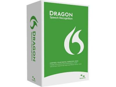 Nuance Dragon Naturally Speaking Home 13 English Speech Recognition Software
