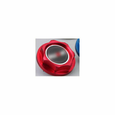 Red Engine Oil Fuel Filler Cap Cover for Mitsubishi