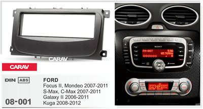 CARAV 08-001 Car Dash kit Fascia Surround Panel for FORD Focus II,Mondeo S-Max