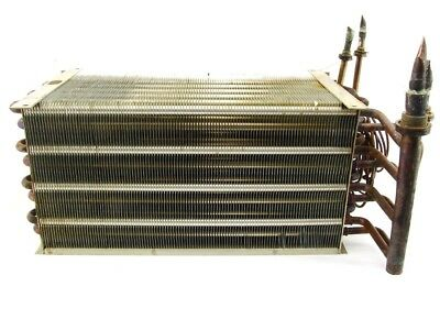 Fins Heat Exchanger 470x205x250mm Heating Register Heat Exchanger Heat Exchanger