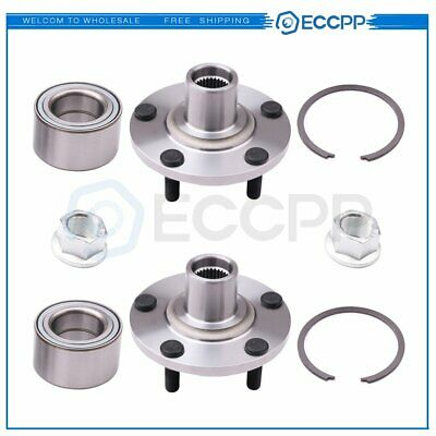 Pair Of 2 New Front Wheel Hub Bearing Assembly Fits Altima Maxima I30 I35