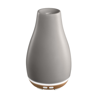 Ellia Blossom Ultrasonic Diffuser with Essential Oil Samples and Ambient Mood