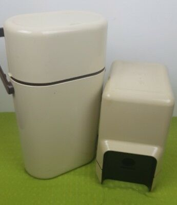 Decor matching insulated Wine Cask and 2x bottle Cooler vintage retro classic