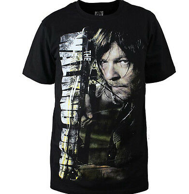 2018 New The Walking Dead Season Five Daryl Dixon Women Men Black T-SHIRT  SSSS