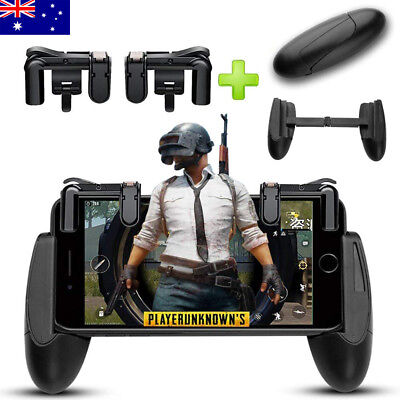 PUBG Mobile Game Controller Shooter Trigger Fire Button for Apple iphone 8 10 X