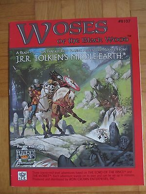 Woses of the Black Wood - #8107 – English Merp Middle Earth lotr Rolemaster rpg