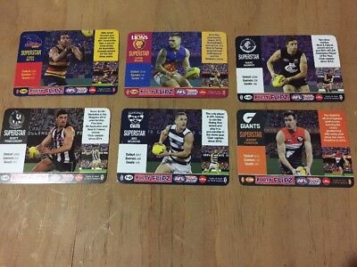 Footy Flipz Pick Your Card AFL Teamcoach 2018 Cards
