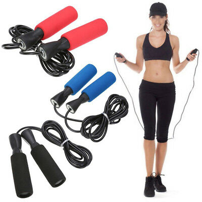 Kids/Adults Aerobic Exercise Boxing Skipping Jump Rope Bearing Speed Fitness Hot