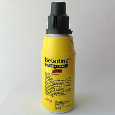 Betadine Povidone Iodine -125ml- First Aid Antiseptic Solution