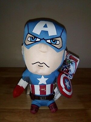 Avengers Initiative Deluxe 38cm Talking Character Plush Toy America Iron Man