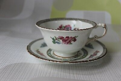 Vintage Tea Cup And Saucer, Paragon,tree Of Kashmir, Oriental Pink Blossom.